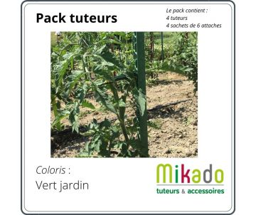 full pack Garden stake - GREEN