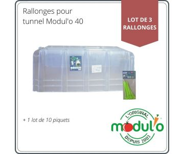 Set of 3 extensions Modul'o 40