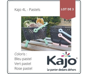 Set of 3 baskets Kajo 4L -...